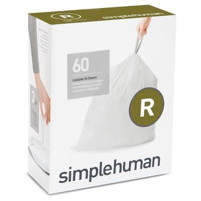 Trash Bags: Simplehuman code R