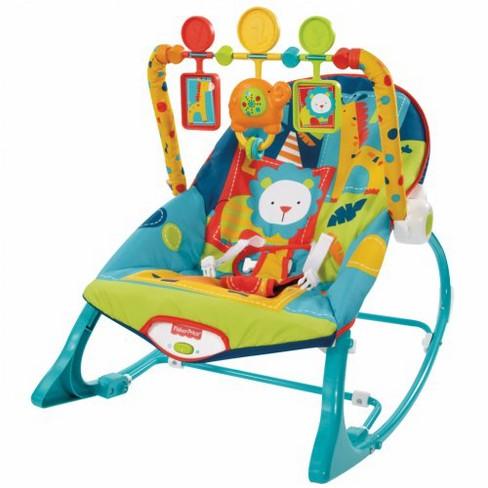 Fisher Price Toys Circus Celebration Infant To Toddler Rocker