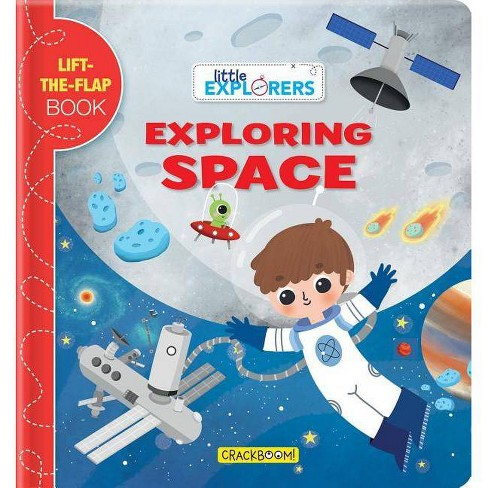 Little Explorers: Exploring Space - (Board_book) - image 1 of 1