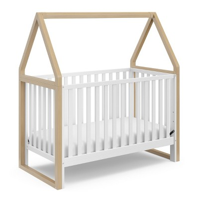 Storkcraft Orchard 5-in-1 Convertible Crib - White/Driftwood