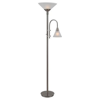 3-way Floor Lamp Stainless Steel - Kenroy Home