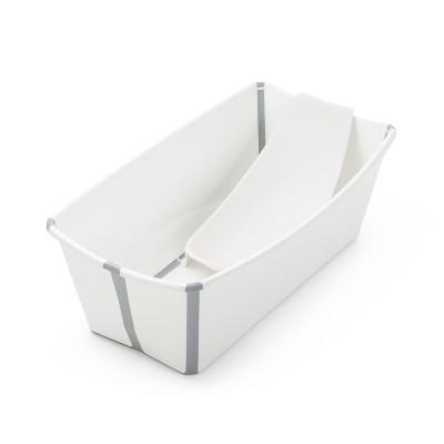 Stokke Flexibath Bath Tub Bundle - White/Gray