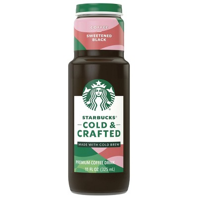 Starbucks Cold & Crafted Black - 11 fl oz Can