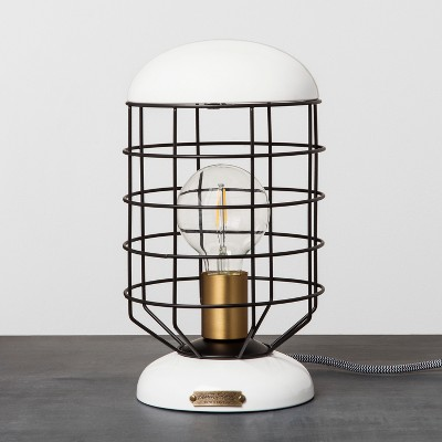 Cage Table Lamp - White - Hearth & Hand™ with Magnolia