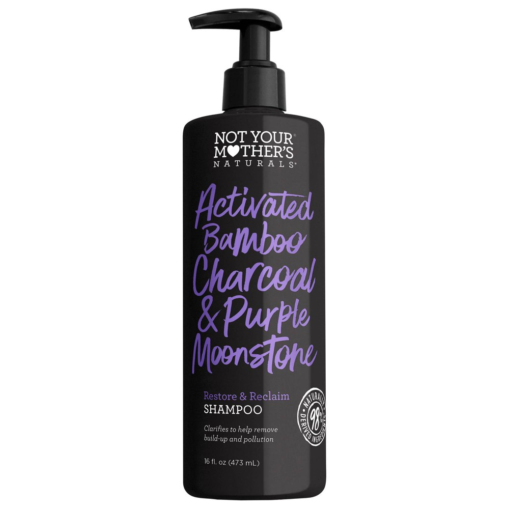 Image of Not Your Mother's Activated Charcoal & Purple Moonstone Shampoo - 16 fl oz