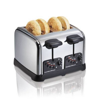 Hamilton Beach 4-Slice Toaster - Black