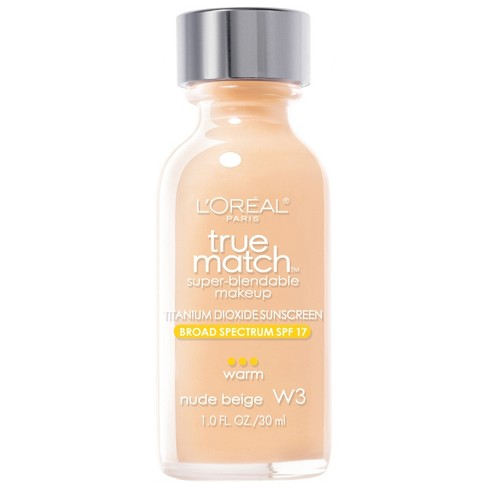 L'Oreal Paris True Match Super-Blendable Makeup - Light Shades - 1.0 fl oz - image 1 of 3