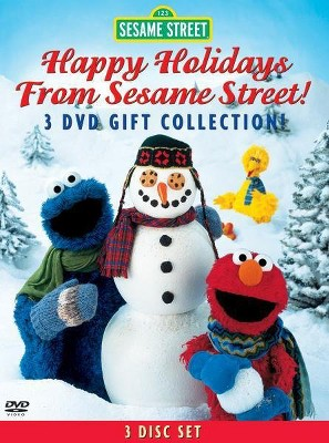 Happy Holidays From Sesame Street! Gift Collection (DVD)