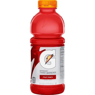 Gatorade Fruit Punch Sports Drink - 20 fl oz Bottle