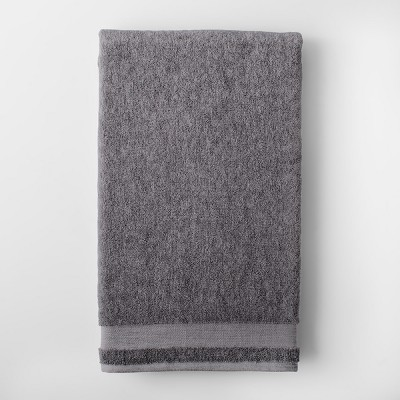 Solid Bath Sheet Dark Gray - Made By Design™