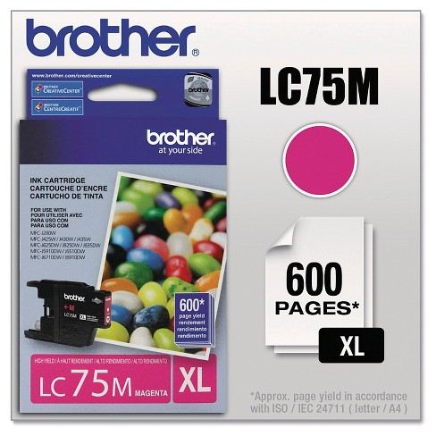 Brother Innobella High-Yield Single Ink Cartridge - Cyan, Magenta, Yellow - image 1 of 3