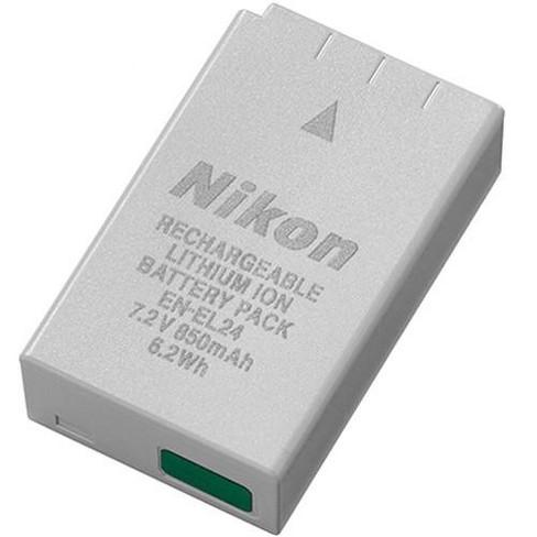 Nikon EN-EL24 Rechargeable Li-ion Battery for 1 J5 Mirrorless Digital Camera - image 1 of 1