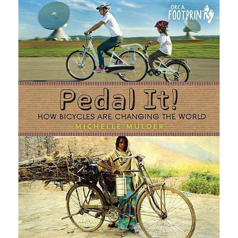 Pedal It! - (Orca Footprints) by  Michelle Mulder (Hardcover) - image 1 of 1