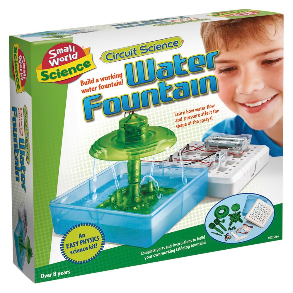 Small World Toys Circuit Science Water Fountain