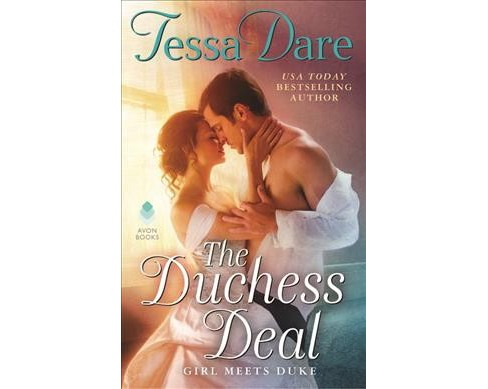 Duchess Deal : Girl Meets Duke -  (Girl Meets Duke) by Tessa Dare (Hardcover) - image 1 of 1