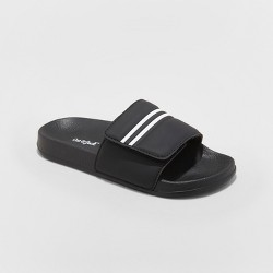 Boys' Wilton Slide Sandals - Cat & Jack™ Black