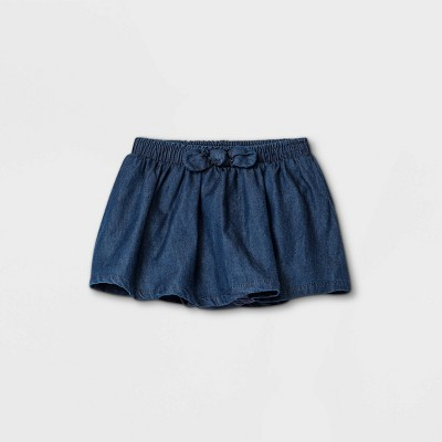 Baby Girls' Denim Skirt - Cat & Jack™ Blue