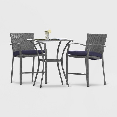 Cosco Lakewood Ranch 3pc High Top Patio Bistro Set