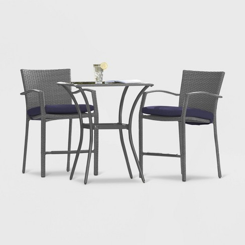 Cosco Lakewood Ranch 3pc High Top Patio