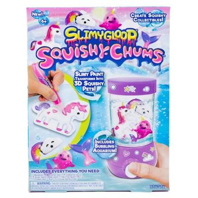 SlimyGloop Squishy Chums Mystical Aquarium
