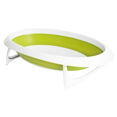 Boon Naked 2-Position Collapsible Baby Bathtub - Green