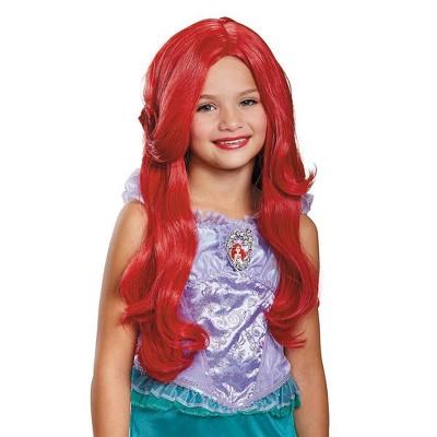 Kids' Disney Princess Ariel Halloween Wig