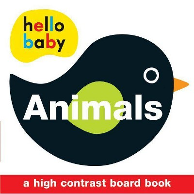 Hello Baby: Animals - by Roger Priddy (Board_book)