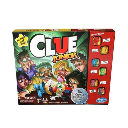 Clue Junior Board Game - image 1 of 4