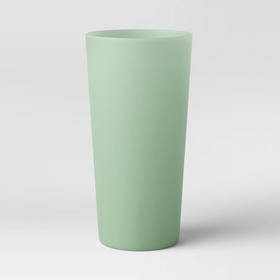 26oz Plastic Translucent Tumbler Green - Room Essentials™