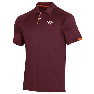 NCAA Virginia Tech Hokies Men's Short Sleeved Polo Shirt