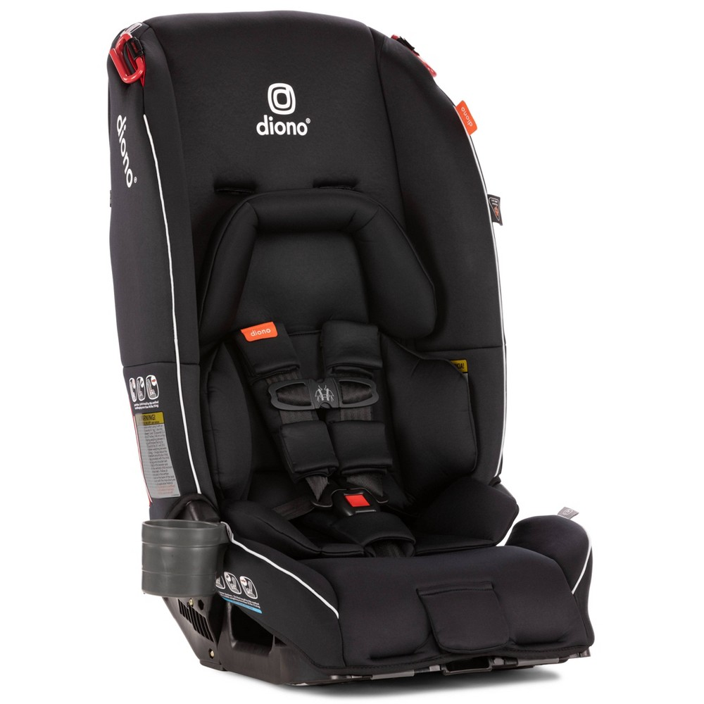 Image of Diono Radian 3 RX 3-in-1 Convertible Car Seat - Black