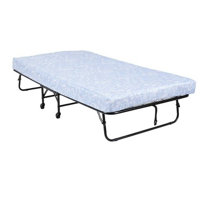 "Twin 5"" Mattress with Folding Metal Guest Bed - Room & Joy"