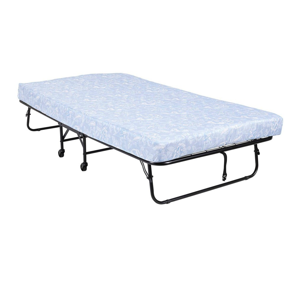 Twin 5 34 Mattress With Folding Metal Guest Bed Room 38 Joy