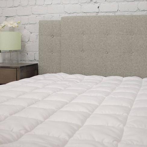 Eluxury Pillowtop Mattress Pad Target
