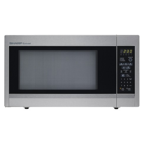 Sharp 1.8 Cu. Ft. 1100 Watt  Microwave Oven - Stainless Steel T551ZS - image 1 of 1