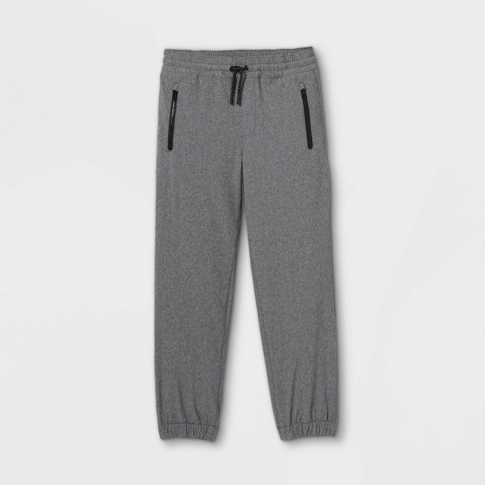Boys 39 Stretch Pull On Quick Dry Jogger Fit Pants Cat 38 Jack 8482 Gray 4