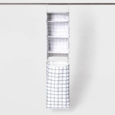 Hanging Closet Set Gray - Room Essentials™