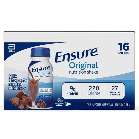 Ensure Original Nutrition Shake - Milk Chocolate   - image 1 of 4