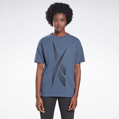 Reebok Vector Graphic Tee Womens Athletic T-Shirts