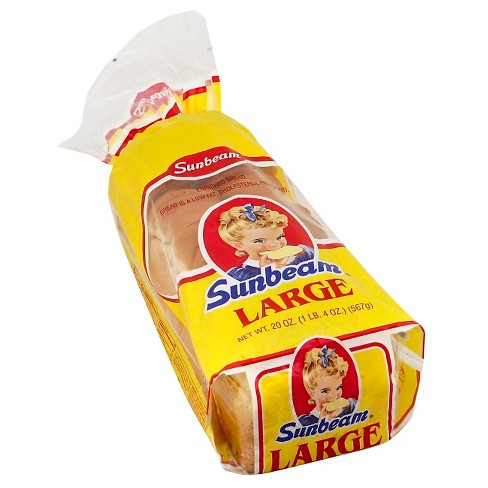 Sunbeam Round Top White Bread - 20oz - image 1 of 1