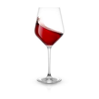 JoyJolt Layla Red Wine Glasses - Set of 8 Italian Wine Glasses European Made - 17 oz