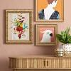 "12"" x 12"" Cockatoo Recessed Frame - Opalhouse™ - image 2 of 4"