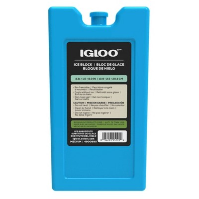 Igloo MaxCold Refreezable Ice Block - Large