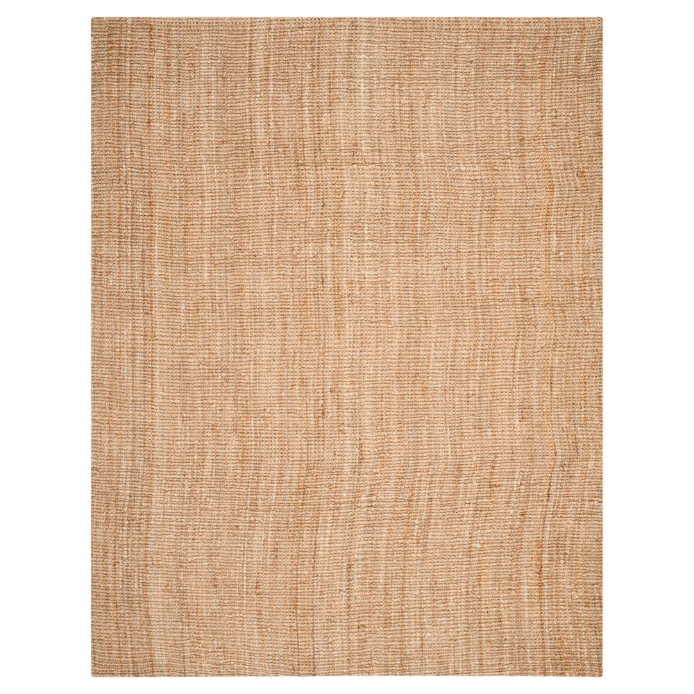 Solid Area Rug Natural