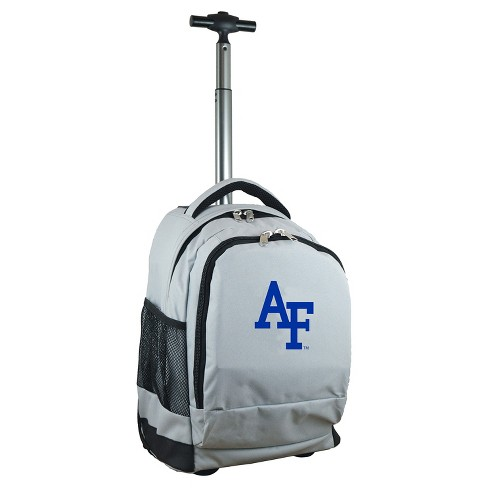 NCAA Air Force Falcons Gray Premium Wheeled Backpack - image 1 of 6