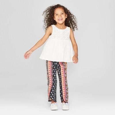 Toddler Girls' Dress and Leggings Set - Genuine Kids® from OshKosh Almond Cream 2T