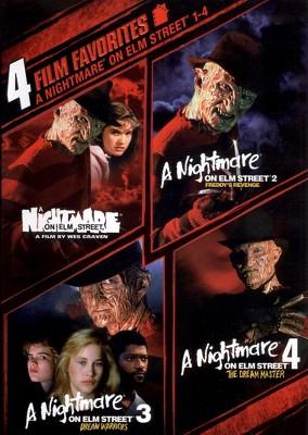 A Nightmare on Elm Street 1-4: 4 Film Favorites (DVD)