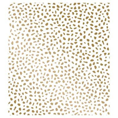 Speckled Dot Peel & Stick Wallpaper Metallic Gold - Opalhouse™