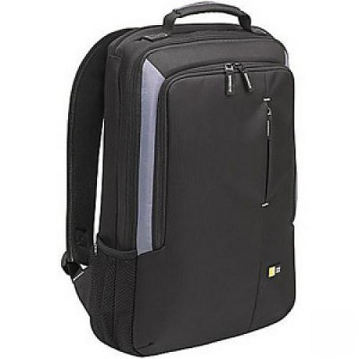 "Case Logic VNB-217 Carrying Case (Backpack) for 17"" Notebook - Black - Nylon - 21.9"" Height x 13.1"" Width x 3.3"" Depth"