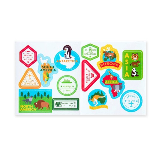 Melissa & Doug Round the World Travel Activity Rug image number null